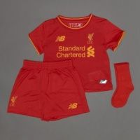 2016/2017 Liverpool Home Football Shirt Kids