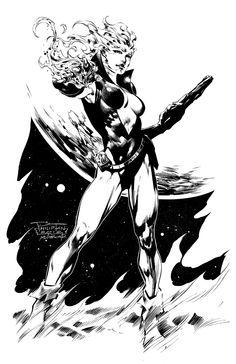 Guardians of the Galaxy Nikki by (Philip Tan) and Jason Paz Comic Art