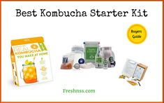 8 Best Kombucha Starter Kit, Plus 1 to Avoid Buyers Guide) Best Kombucha, Kombucha Scoby, How To Brew Kombucha, Kombucha Brewing, Energy Drink List, Energy Drinks, Fun Drinks Alcohol, Alcoholic Drinks, Kombucha Starter