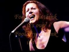 ▶ ELKIE BROOKS - FOOL IF YOU THINK IT'S OVER ( LYRICS ) VINYL 1981 - YouTube