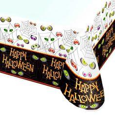 Spooky Halloween Bones Party Table Cover/Halloween Party Supplies/Halloween…