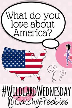 It's What Do You Love About America? Day! Comment with your answer for your chance to win a #sample of your choice! #WildcardWednesday