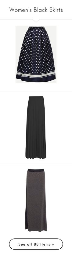 """""""Women's Black Skirts"""" by eternalfeatherfilm on Polyvore featuring skirts, bodycon maxi skirt, maxi skirt, pleated maxi skirt, pleated skirt, long pleated skirt, midi maxi skirt, long bodycon skirt, jersey maxi skirt and bottoms"""