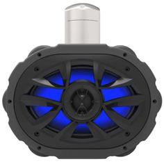 Boss Audio MRWT69RGB 6 x 9 Waketower Speaker w-RGB LED Lights - Black