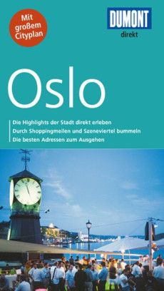 Buch-Cover: DuMont direkt Reiseführer Oslo (von Annette Ster & Michael Möbius) Oslo, Cover, Word Reading, Blankets
