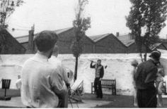 Billy Fury - photo taken by Moya Gleave at Granada Studies, whilst being filmed singing 'In Summer'.