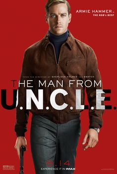 He'll do whatever it takes to get the job done. On August 14, catch Armie Hammer as Illya Kuryakin. #ManFromUNCLE | The Man from U.N.C.L.E.