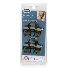 Goody Ouchless Flex Headrest Approved ComfortFlex Claw Clips 1 pair * Check out the image by visiting the link. #HairClips