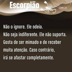 Esotérica Escorpião - 100% verdade... <3 :-)                                                                                                                                                     Mais