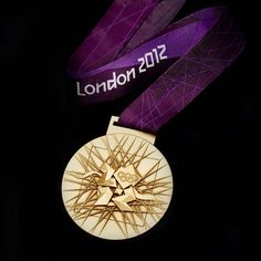A gold medal awarded at the 2012 Olympic Games in London #olympics