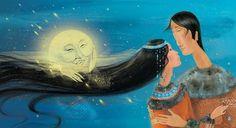 Koryak legends(Kamchatka,Russian Far East), illustrations by Irina Galkina