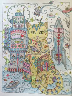 Creative Cats by  Marjorie Sarnat This is for my Grandsons, it's done in the same Color as their cat Jo.