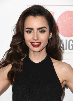 Actress Lily Collins arrives at the 10th Annual GO Campaign Gala at Manuela on November 5, 2016 in Los Angeles, California.