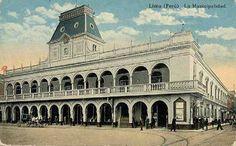 Antigua fachada de la Municipalidad de Lima by Lima La Única