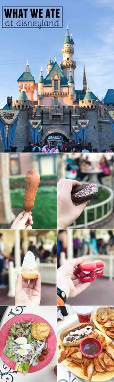 What we ate at Disneyland – sweet and savory and everything in between!