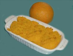 Hubbard Squash and Orange Puree. Photo by Bergy