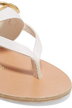 4e789c599330b Ancient Greek Sandals - + ilias LALAoUNIS Zoe Snakes embellished leather  sandals