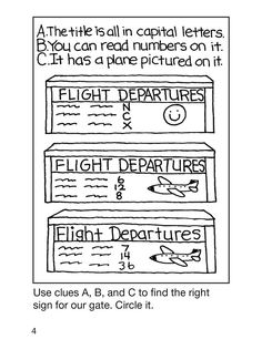 My Airplane Trip Activity Book   (Dover Little Activity Book)   By: Becky J. Radtke
