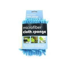 """48 Microfiber cloth sponge by FindingKing. $91.99. This microfiber sponge is great for deep cleaning and dusting. The microfiber removes dust and dirt easily. Simply use dry or add a bit of water for deeper cleaning. Sponge can be machine or hand washed without bleach or fabric softener. Sponge measures 4"""" x 5""""."""