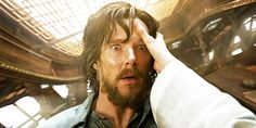 DOCTOR STRANGE (2016) ~ Benedict Cumberbatch. From the first official trailer. [GIF]
