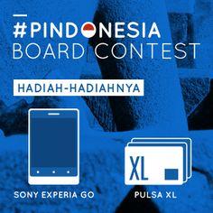 Hadiah-hadiah seru dari #PINdonesia Board Contest