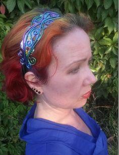 Unique handcrafted headbands by DrayvenleaDesigns on Etsy