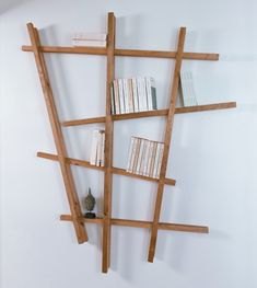 How can I, as a beginner, build an etager myself? - New Decoration ideas Diy Etagere, Etagere Design, Acrylic Furniture, Furniture Decor, Cardboard Storage, Living Room Designs, Ladder Decor, Shelving, Diy Home Decor