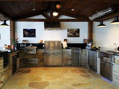 Outdoor Grill Construction and Outdoor Kitchen Design - Oklahoma Barbeque