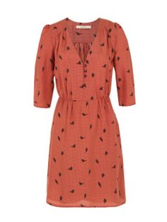 Sessun – Beauvoir, womens Chianti red silk dress. Win Your Dream City Break with i-escape & Coggles #Coggles #iescape #competition