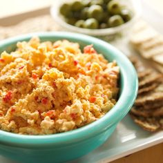 Pimento Cheese By Ree Drummond Pimento Cheese Recipe Pioneer Woman, Pimento Cheese Recipes, Pimiento Cheese, Cheese Dips, Cheese Food, Paula Dean Pimento Cheese Recipe, Pimento Cheese Recipe Food Network, Cheese Snacks, Cheese Party