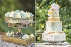 Gilded in the Garden Styled Shoot | Wedding Inspiration | L'Estelle Photography | As seen on WellWed