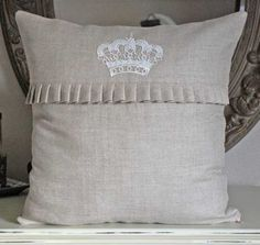 decorative pillow in neutral color