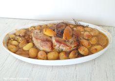 My Culinary Curriculum: Rouelle de porc aux citrons confits (Rouelle pork ...