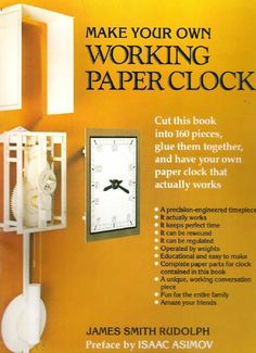 Make Your Own! (Paper Clock)