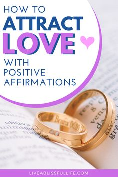 One of the best ways to counter society's negativity and instead attract love is to use affirmations, powerful statements that can literally change your life. These 50+ affirmations for love, acceptance and family are designed to help you attract the kind of relationship you'd like with yourself and others. There are love affirmations to attract a soulmate, fall in love with yourself, develop self-acceptance and create a family. #selflove #meditation #affirmation #mentalhealth #mindfulness