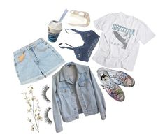 """""""road trippin with my two favorite allies"""" by bananasrad ❤ liked on Polyvore featuring American Apparel, Pier 1 Imports, Hanky Panky and Converse"""