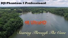 DJI Phantom 3 Soaring Through the Cove in 4K UltraHD