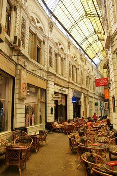 Pasajul Vilacrosse, Bucharest, Romania.
