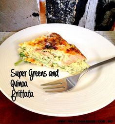 Super Greens and Quinoa Frittata – I love quick and easy meals. I also love meals that are full of nutritional goodness and taste delicious. When I experimented with this recipe last week I managed to tick all these boxes. My lovely taste testers also agreed that this recipe got a big thumbs up. I love the versatility of a frittata as you can eat it for breakfast, lunch or dinner. It is also one of those meals where you can just chuck in whatever you have in your fridge and produce...