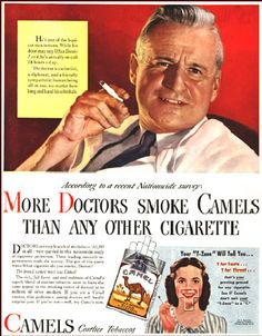 THIS IS HOW THEY GOT US STARTED!!! Can you imagine - people thought doctors were GODS back then.