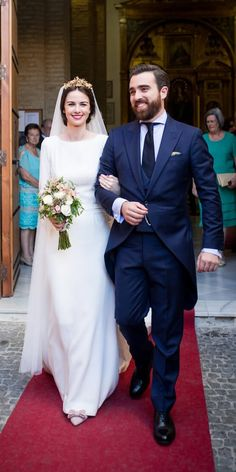 modest wedding dresses sheath with long sleeves molina y royo