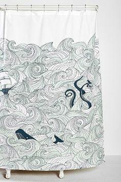 Elisa Cachero Odyssey Shower Curtain