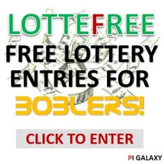 LOTTEFREE is the fun way playing a lottery for real prizes without spending any money. Simply register for free and you will receive 3 Free Entries. Invite your friends to play LOTTEFREE and receive 3 more Free Entries for every new player who registered using your personal reflink. If you run out of Free Entries you can collect free DEALPOINTs on other websites. http://www.lottefree.com/?refid=31593e9f