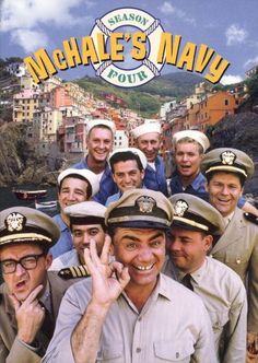 Starring Ernest Borgnine, Tim Conway, Joe Flynn, Gary Vinson, and Carl Ballantine love this show! Photo Vintage, Vintage Tv, Mchale's Navy, Larry Wilcox, Vintage Television, Old Shows, Comedy Tv, Great Tv Shows, Theater