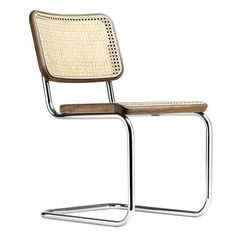 Thonet Chaise cantilever S 32 V Pure Materials avec clayonnage | AmbienteDirect