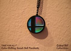 Color Shifting Smash Ball Necklace  video game by CriticalHitShop, $16.00