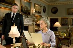 """On playing Robin Janvrin, the Queen's Secretary: """"A lot of it was getting the voice right. I did it posh and it was funny at the read through. But the royal advisor we had said it was too posh. I was disgruntled,"""" he said. """"In terms of the film no one knows who Robin Janvrin is, except his friends and the royal family...But I still tried to make him as authentic as possible.""""  (From The Wiltshire 2/4/09)"""