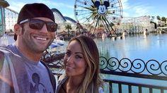 Zack Ryder and girlfriend Emma Zack Ryder, Wwe Couples, Happy Marriage, Superstar, Girlfriends, Mens Sunglasses, Dating, Guys, Women