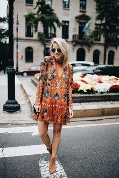 Стильные маленькие платья с вышивкой 2