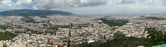 Athens, from the top of Mount Lycabettus